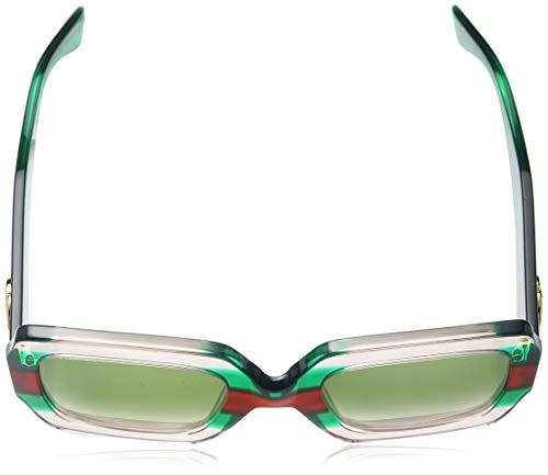 Fashion Shopping Gucci GG 0178 S- 001 MULTICOLOR/GREEN Sunglasses