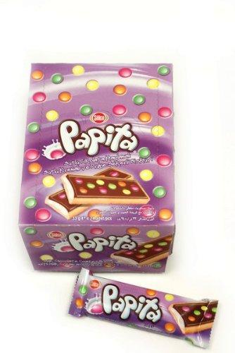 Sölen - Papita - Bisquit mit Milchschokolade, Milchcreme und Dragee-Bonbons - 24 x 33g