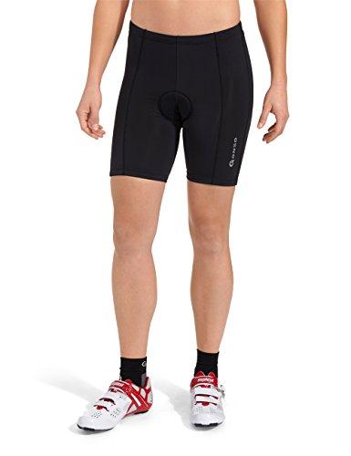 GONSO Radhose Pretoria Damen Fahrradhose mit hochwertigem Sitzpolster, schwarz , 40