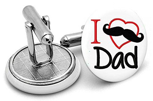 Boutons de manchette I Love My Daddy, Homme, cadeaux, mariage, Groom