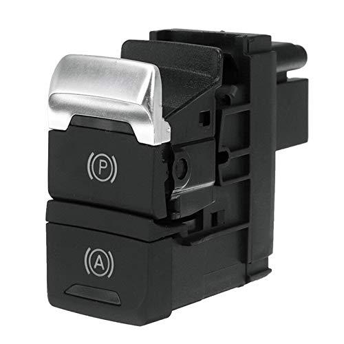 SHOUNAO Botón De Interruptor De Freno De Estacionamiento De Sostener Estacionamiento Electrónico para A4L Q5 2008-2016 (Color : Black)