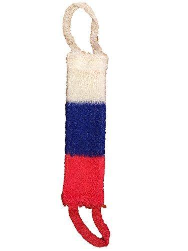 Trendofindia Tricolor Russland Badeschwamm Massageschwamm Wellnessschwamm 40 x 12 cm Мочалка