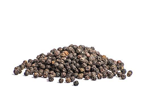 Tellicherry Pfeffer TGSEB - Telly Cherry Pfefferkörner - Tellycherry schwarz ganz für die Mühle - 80g