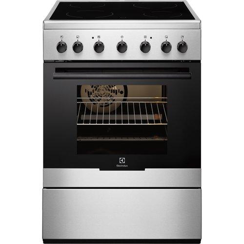 Electrolux - Cucinetta con Piano Cottura Elettrico e Forno Elettrico EKC61360OX Finitura Acciaio Inox da 60cm