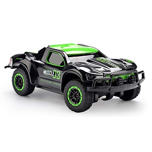 Chilartalent RC Cars Remote Control Car for Kids 3-12 Year Old, 1:43 Scale 4WD High Speed Racing Truck with 2.4GHz Radio Controller (Green)