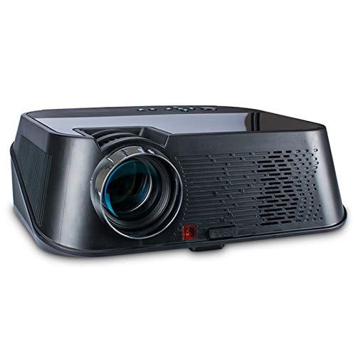 Smart Video Projector VS626 Android 3500ansi Lumens 1080 * 720 Resolución LED + LCD Smart Projector, Soporte AV/HDMI/SD Card/USB/VGA (Color : Black Silver)