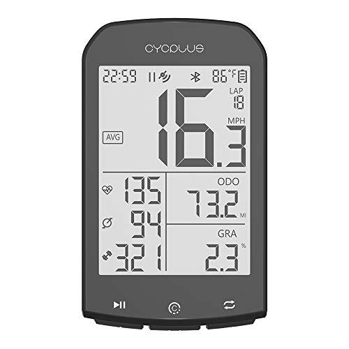 GOMOV GPS Inalámbrico De Bicicletas Ordenador Cuentakilómetros Velocímetro, Impermeable Al Aire Libre...