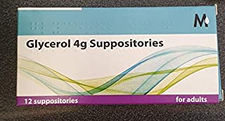 Glycerin (Glycerol) Suppositories Bp Adult - 12