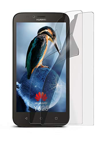 MoEx Anti Reflex Bildschirmschutzfolie kompatibel mit Huawei Y625 | Schutzfolie Matt Bildschirm Folie gegen Reflexionen, flexibel, 2X Stück