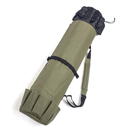 JLDUP Bolsa para aparejos de pesca, bolsa para caña de pescar, bolsa...