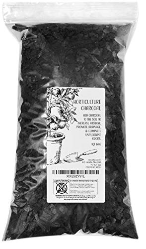 Horticultural Charcoal, 100% All Natural Hardwood Charcoal, Charcoal for Soil Amendment, Orchids, Terrariums, and Gardening (1qt)