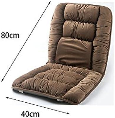Crystal Cashmere Sitting Cushions, Office Chair Cushions Plush Cushion Brown, 40 80cm (Size