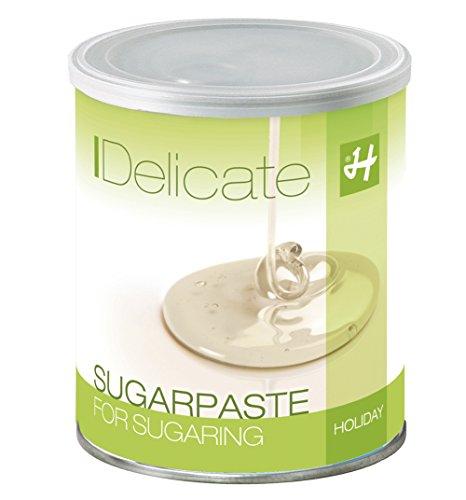 Zuckerpaste Delicate Soft Soft 1 kg Sugaring die effektive langfristige Haarentfernung ohne Vliesstreifen mit der Flicking Technik