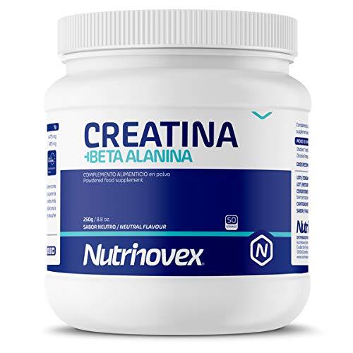potente para casa Neutrino Beck Creatina + Beta Alanina |  Mejora la fuerza muscular, la resistencia y el sabor de la masa muscular …