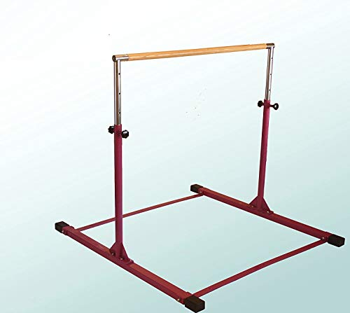 Gymnastics Bar Adjustable 3' to 5' Model DX Barney Purple,...