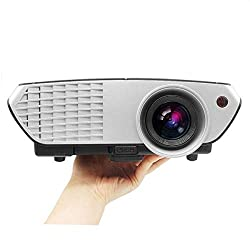 PLAY Full HD LED 3000 Lumens Home Theater Projector with 1 Year Warranty (Black/ Silver),Advance Projector,PlayProjector-PP0090