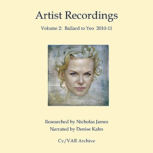 Artist Recordings 2 audiobook cover art