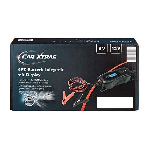 CAR XTRAS Medion Auto-/Motorrad-Batterieladegerät