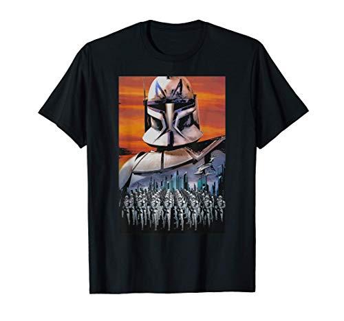 Star Wars Clone Wars Captain Rex Clone Troopers Maglietta