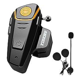 cheap Yideng Bluetooth Motorcycle Helmet Headset Wireless Intercom Intercom BT-S2 Transceiver…