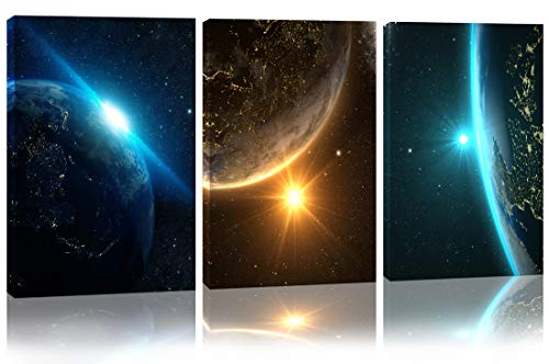 Space Wall Art Giclee Canvas Prints Wall Art Decor Space Pictures for...