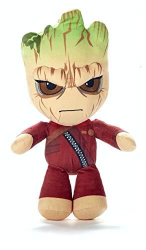 Marvel - Plüsch Baby Groot im Anzug böse 50-55cm Super weiche Qualität