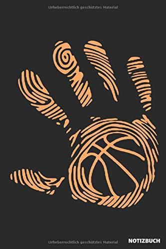Notizbuch: Basketball Hand (liniert)