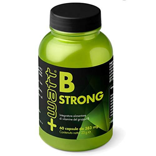 +Watt B Strong, Integratore alimentare di vitamine del gruppo B, 60 Capsule