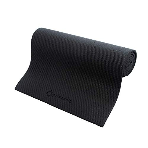 Primasole PSS91NH045 Yoga Mat, 0.3 inch (8 mm), Black, Storage Case Included, Fitness, Pilates, PSS91NH045