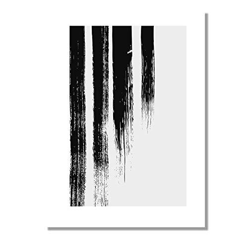 LiMengQi2 Escandinavia Cartas de Amor abstractas Impresiones de lienzos Carteles Arte de la Pared Galería de imágenes para la decoración Interior de la Sala de Estar (sin Marco)