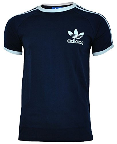 adidas T-Shirt Originals Sport Essentials tee - Camiseta, Color Azul, Talla l
