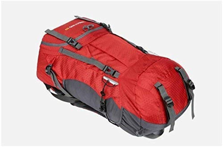 Mode-Unisex-Reiserucksack, Outdoor und Indoor Große Kapazität Kapazität Kapazität Bergsteigenbeutel 60L Wasserdichter Outdoorreisetasche mit Regenschutz (Rot) B07L97Y1ZY | Öffnen Sie das Interesse und die Innovation Ihres Kindes, aber auch die Unschuld von Kindern 7ec441