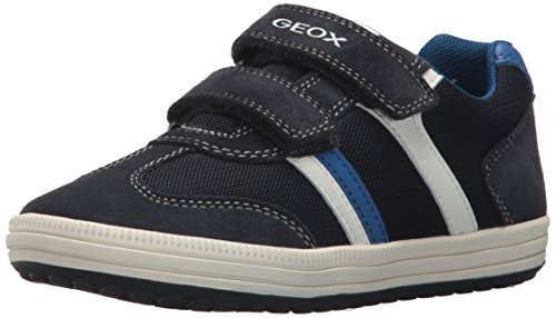 Geox Jungen JR Vita B Low-top Sneaker, Blau (Navy/White), 28 EU