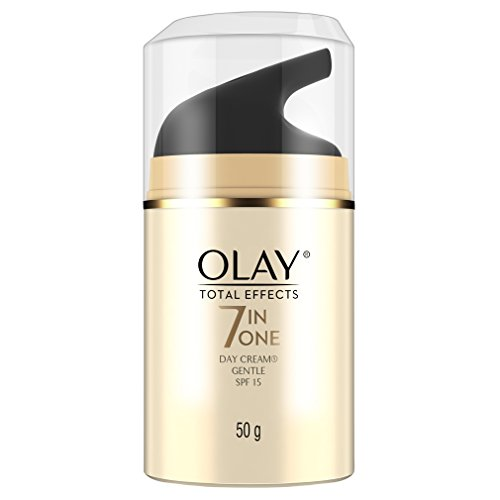 OLAY TOTAL EFFECTS ANTI AGING CREAM GENTLE SPF15 50G.