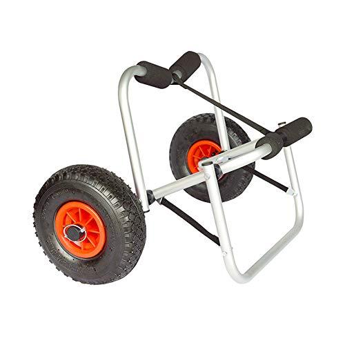 MROSW Strand Trailer, Strap-Type Adjustable Aluminium Pole Handhabung Anhänger, gebraucht für Kajak, Kanu, Jon Boot, Etc.