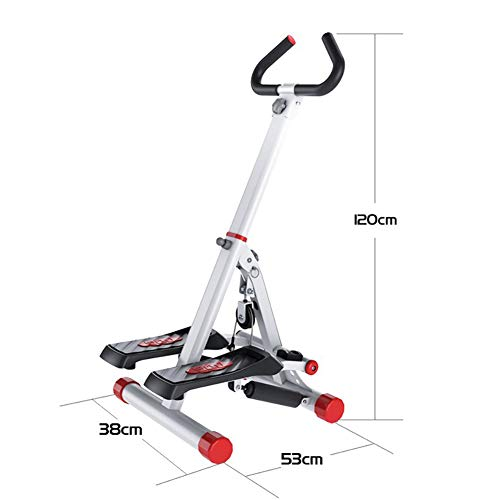 Tensism Foldable Stepper,Adjustable Armrest Stepper,Multi-Function Stepper,Sports Weight-Loss Hydraulic Stepper,Fitness Equipment B 2
