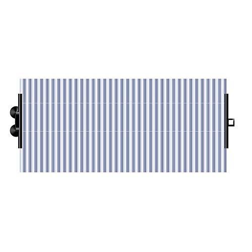 Auto-accessoires Voorruit zondag schaduw auto gordijnen Protect Vehicle Binnenland Van Heat Sunlight Automatic Expansion ZHQHYQHHX (Color : Blue, Size : 46cm)