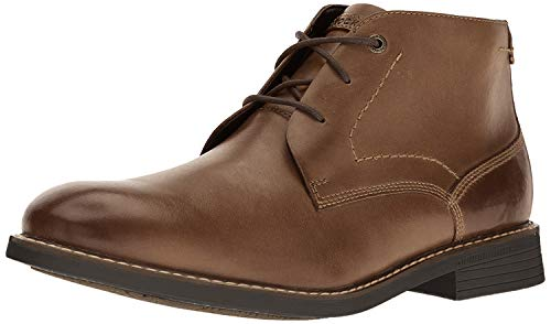 Walking Chukka Shoes for Men Leather