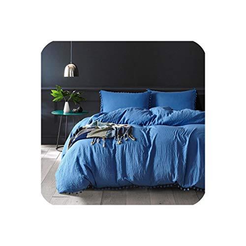 Goods-Store-uk Roze Meisjes Beddengoed Sets Twee/Queen/King Comforter Beddengoed Set Dekbedovertrek Met Kussensloop Home Texile Bed Set
