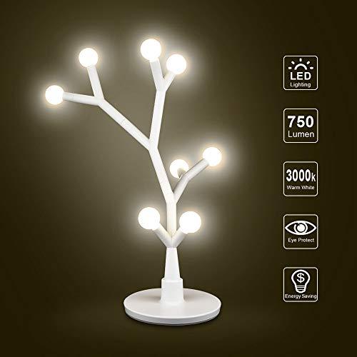 DIY LED Stimmungslicht 8W 750Lm 3000K +/-350K Nachttischlampe Schlummerleuchten für Schlafzimmer Kinderzimmer Wohnzimmer Lampe