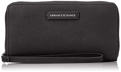 Armani Exchange Fabric Round Zip, Sacs menotte femme,...