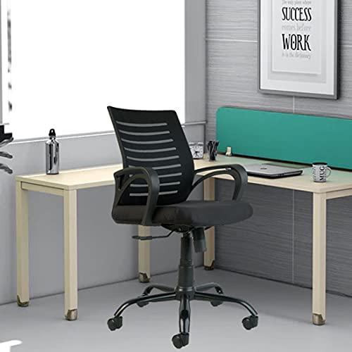 CELLBELL® C104 Fabric Mesh Office Chair (Medium-Back)[Black]