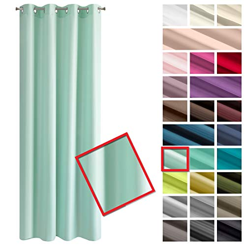 cortinas habitacion lisas