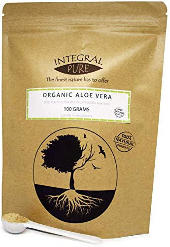 Pure Aloe Vera Powder | Organic Certified | 1g Scoop Included (200g)