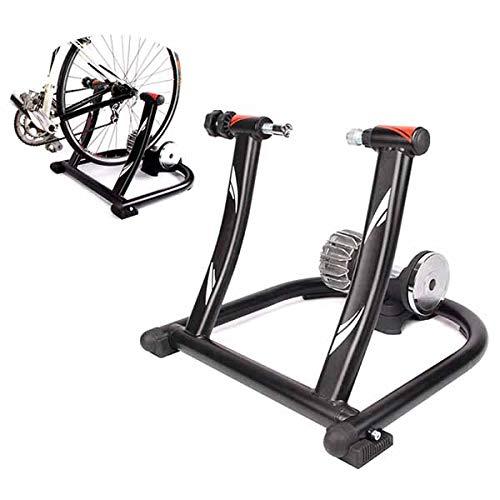 TANCEQI Entrenador De Bicicleta De Ejercicio Interior Entrenamiento Hogar Resistencia Magnética De...