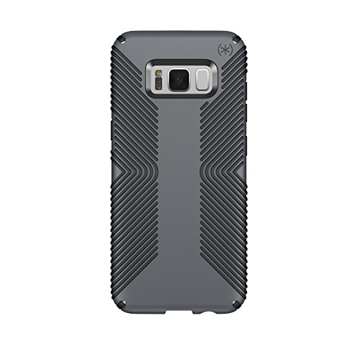 Speck Products Presidio Grip Cell Phone Case for Samsung Galaxy S8 - Graphite Grey/Charcoal Grey