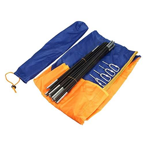 lahomia Kit de Toldo con Toldo para Kayak Inflable Plegable, Tienda de Campaña, Parasol, Toldo - 4 Personas 145x351cm