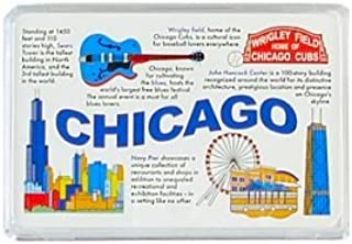 Chicago Playing Cards - Landmarks, Chicago Souvenirs, Chicago Souvenir