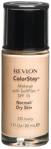 Revlon ColorStay Makeup with SoftFlex, Normal/Dry Skin, Ivory 110, 1 Ounce (Pack of 2)