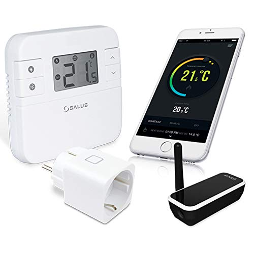 Salus Controls RT310iSPE - Termostato Digital para Smart Home, Funciona con Pilas